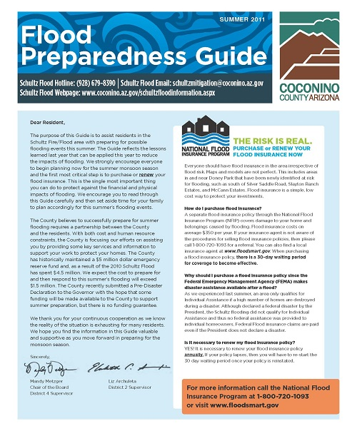 2011 Flood Preparedness and Mitigation Guide