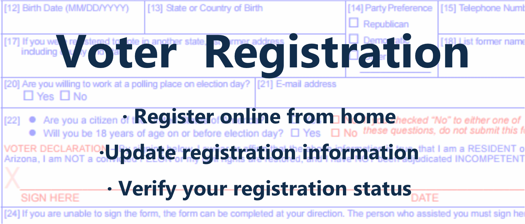 Voter Registration Information