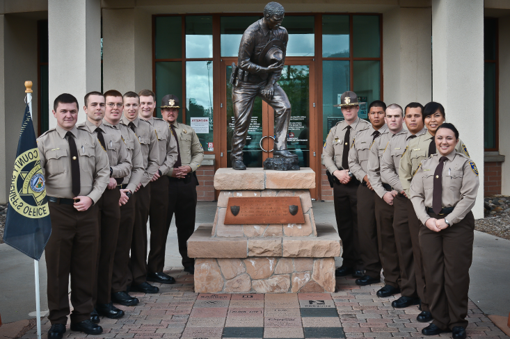 CCSO Staff by Law Enforcement Memorial