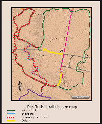 July 24 Map for Trail Closure_Fort Tuthill Thinning Project