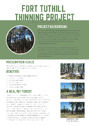Fort Tuthill Thinning Project_Info Sheet_Page_1