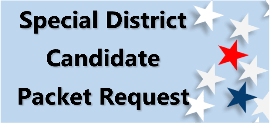 Special District Candidate Packet Request Link