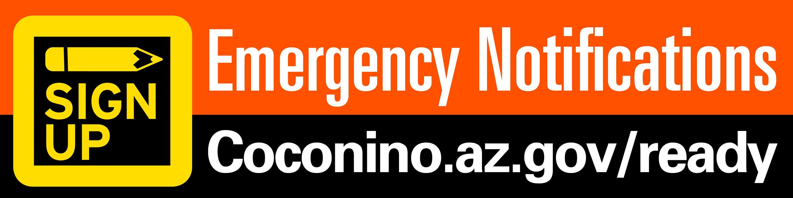 Coconino Emergency Notifications