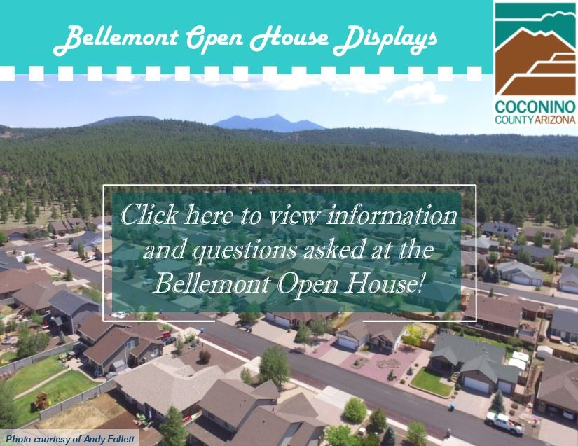Bellemont Open House Displays