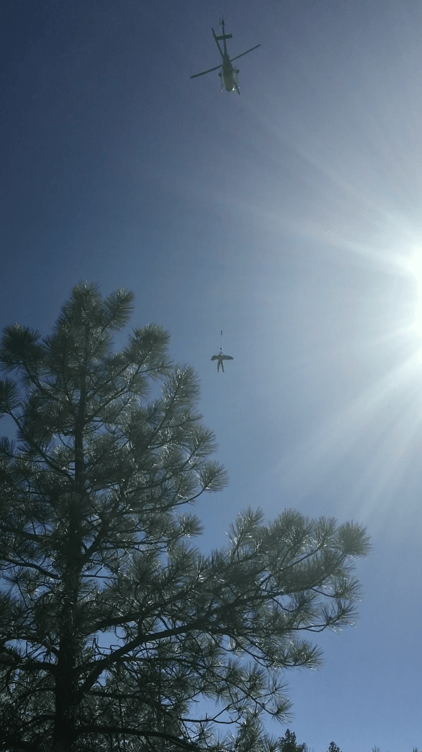Sycamore Canyon Climber Rescue