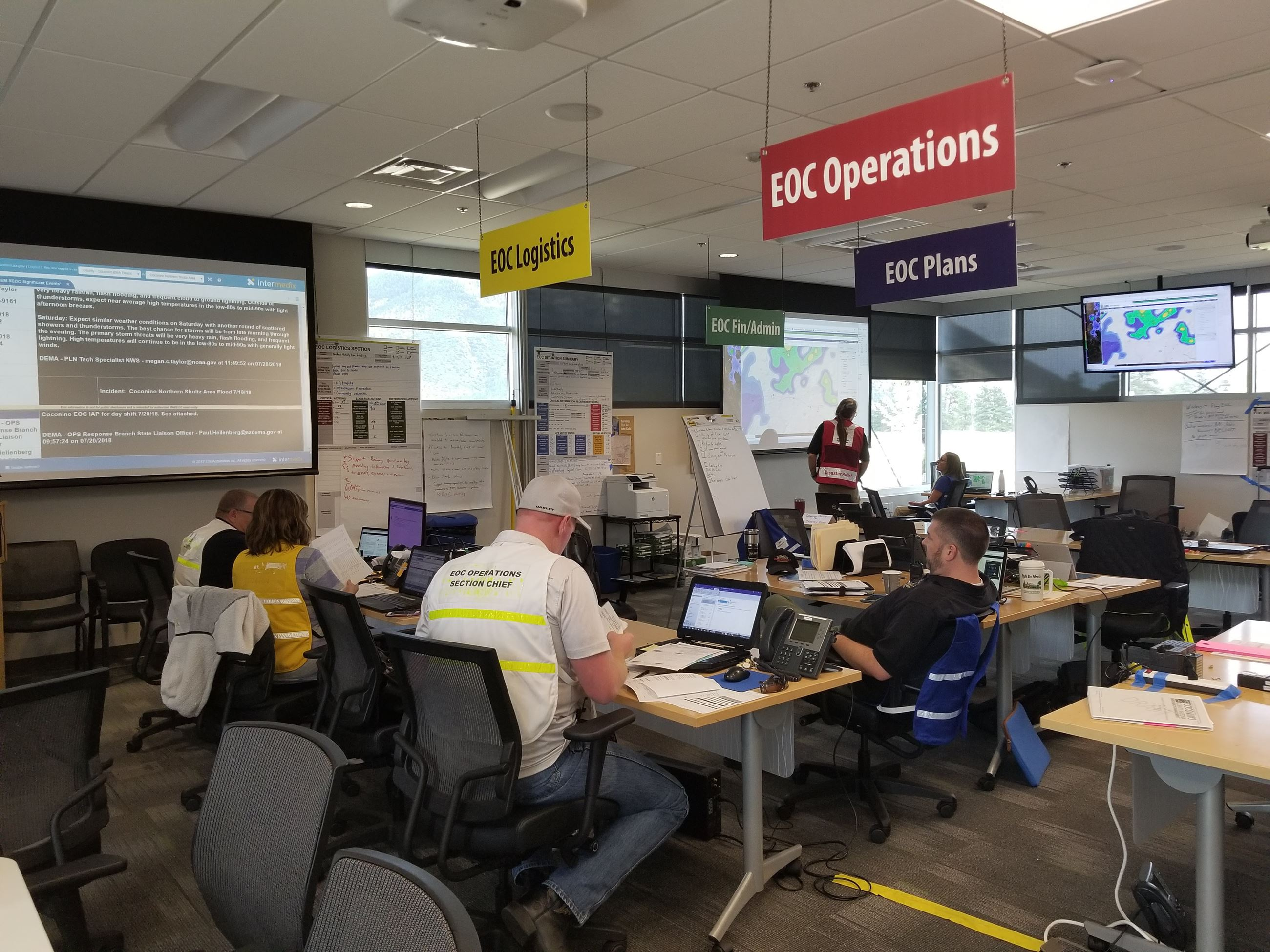 Emergency Operations Center picture