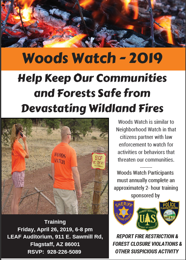 Coconino Woods Watch 2019