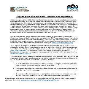 Flood Insurance Info_Spanish