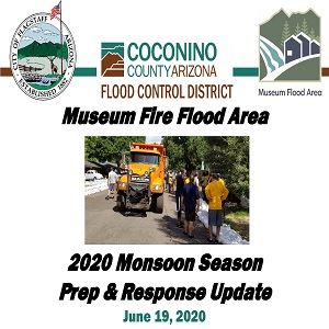 Museum Flood Area 2020 Monsoon Season Prep and Response Update