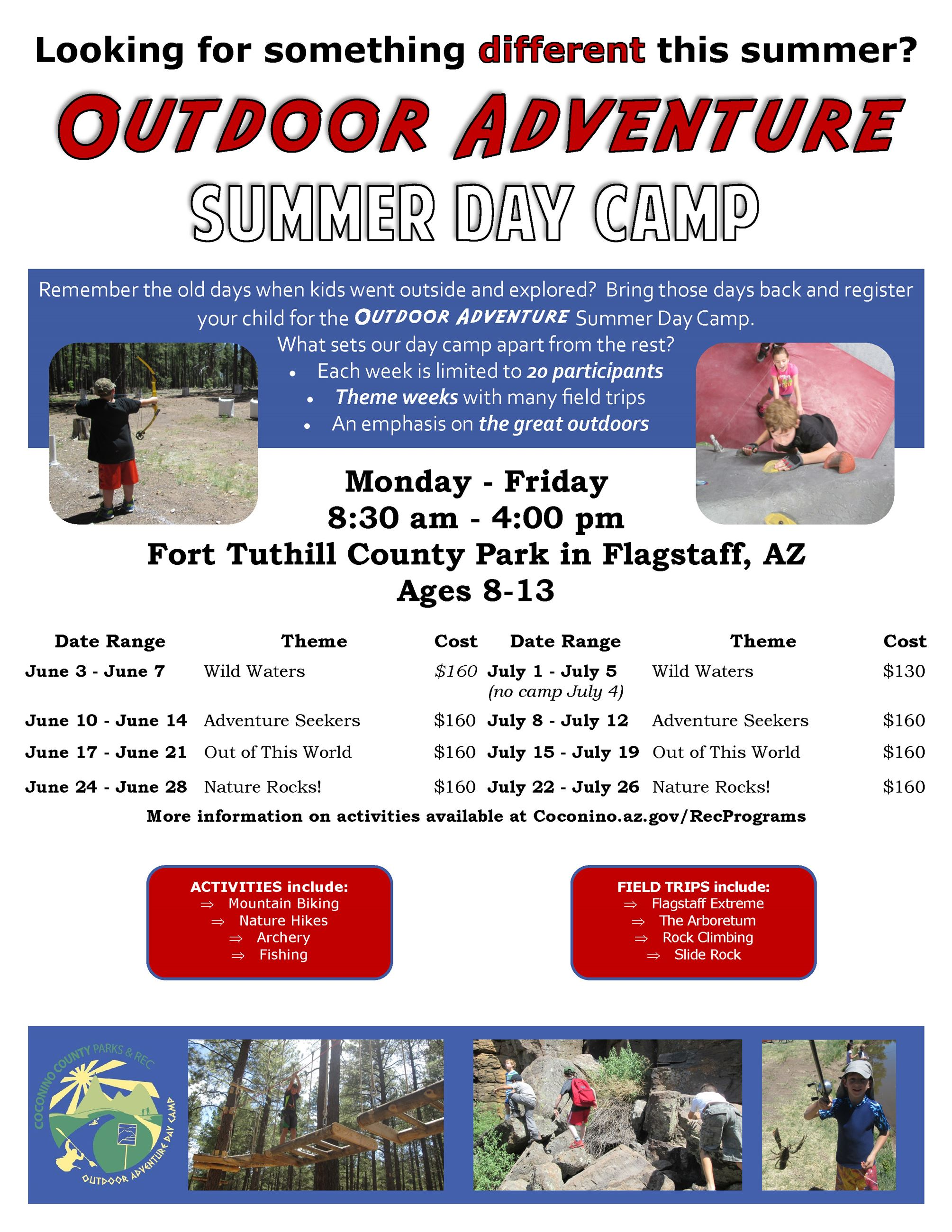 2019 Summer Camp Flyer Opens in new window