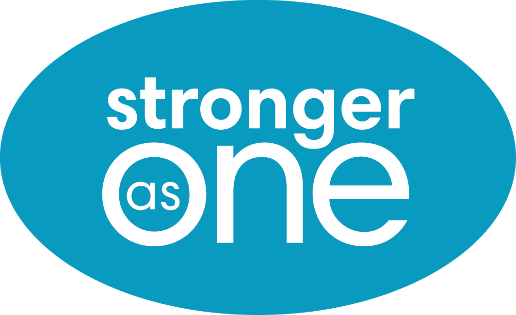 Stronger As One logo