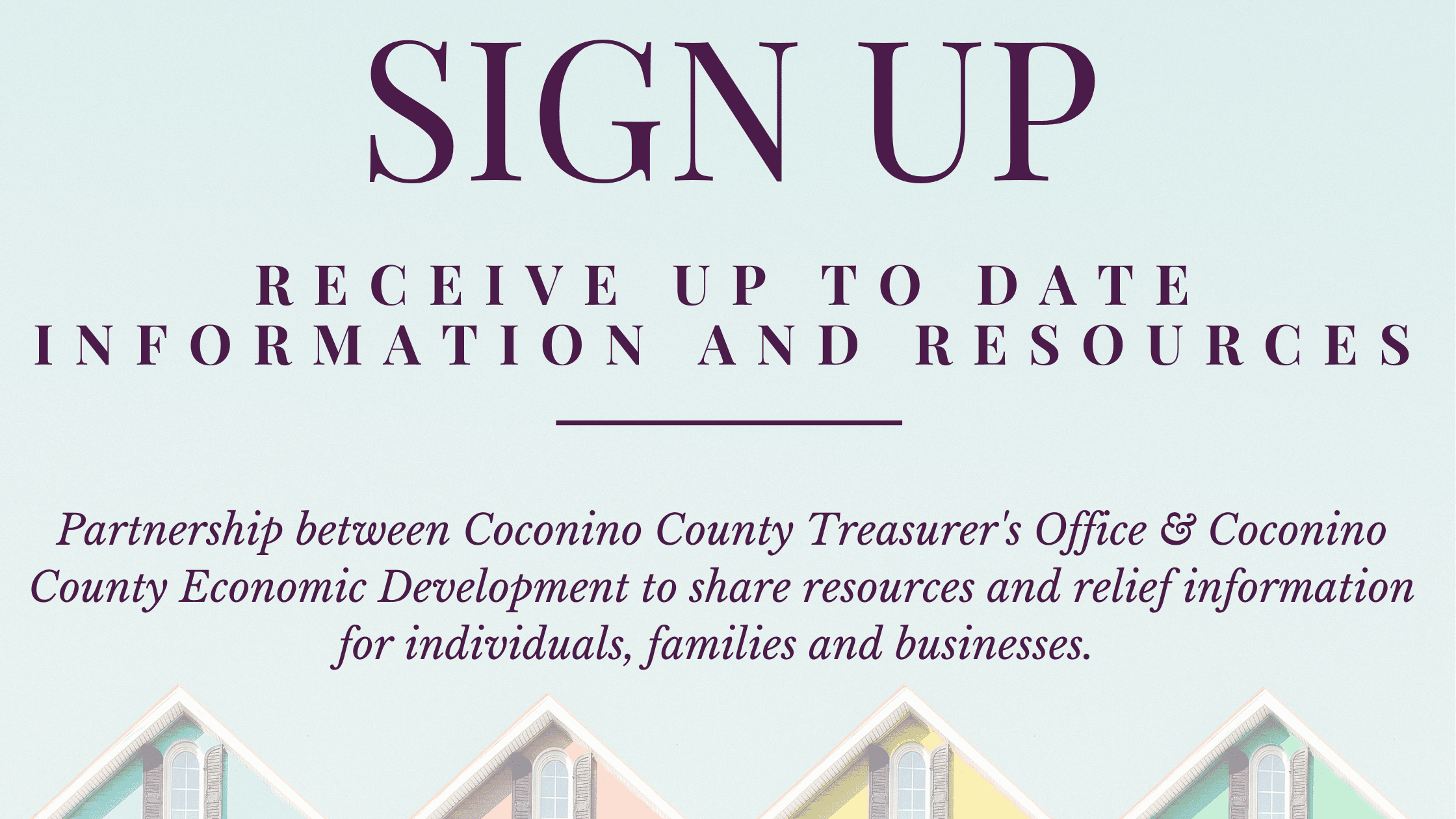Treasurer Notification Sign Up