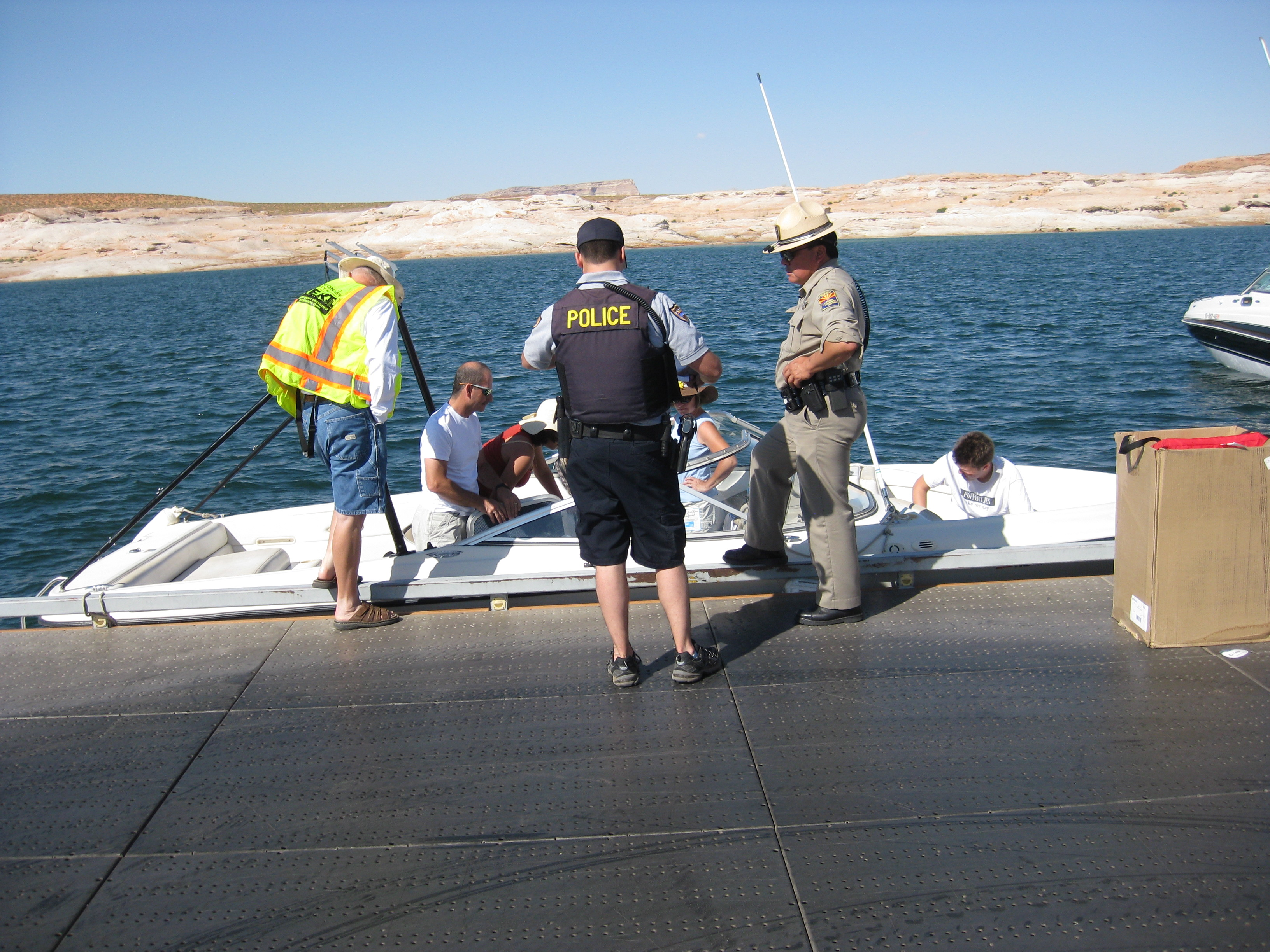 Arizona coconino county leupp - Lake Powell Oui Checkpoint