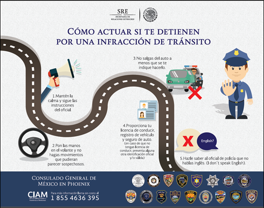 Mexican Consulate Education on Traffic Stops