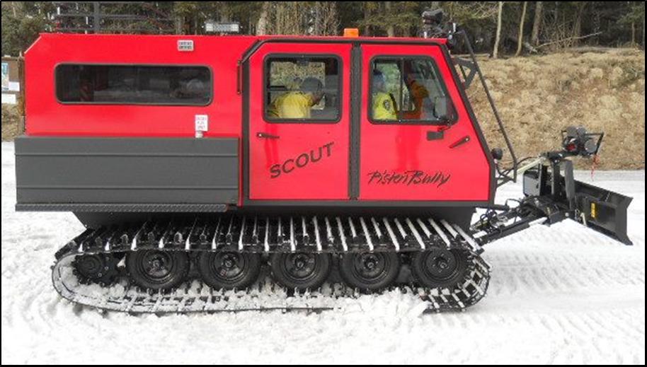 CCSO Snowcat