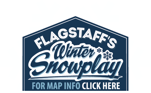 Flagstaff Snowplay Badge
