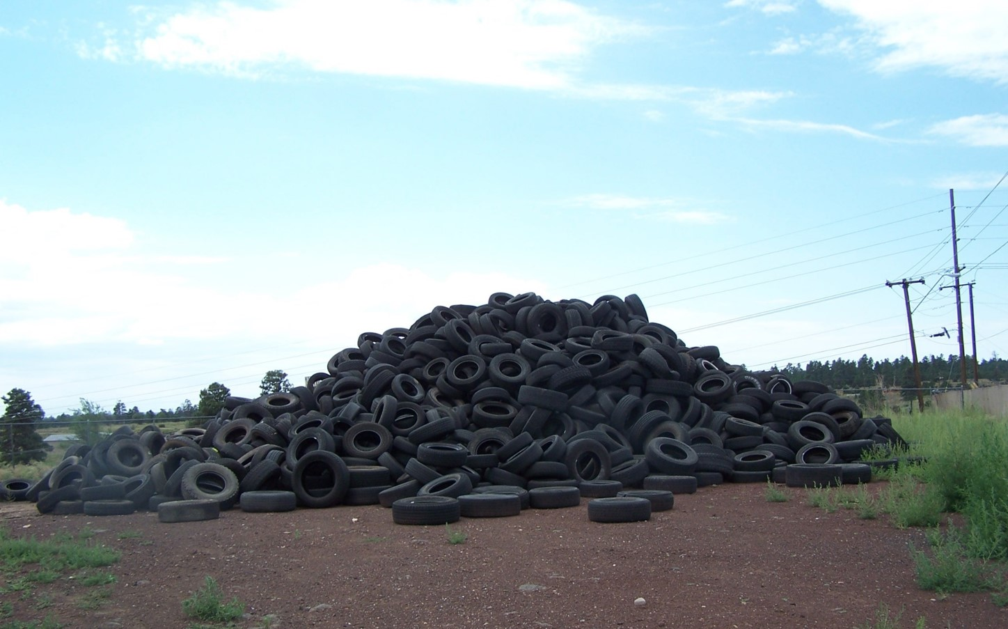 County Waste Tire Sites
